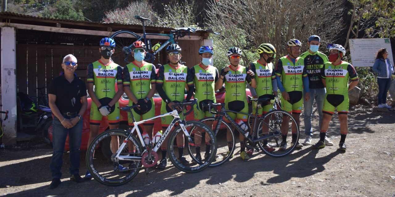 Óscar Abraham ganó cerrado duelo ciclista | El Imparcial de Oaxaca