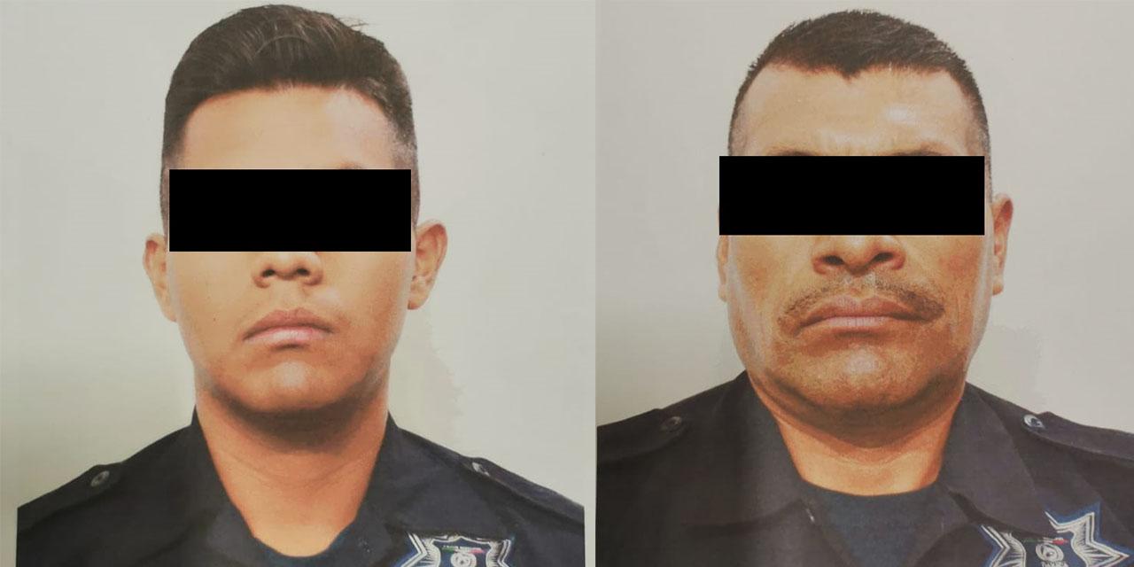 Vinculan a proceso a policías involucrados en robo a comerciante de la Central de Abasto   El Imparcial de Oaxaca