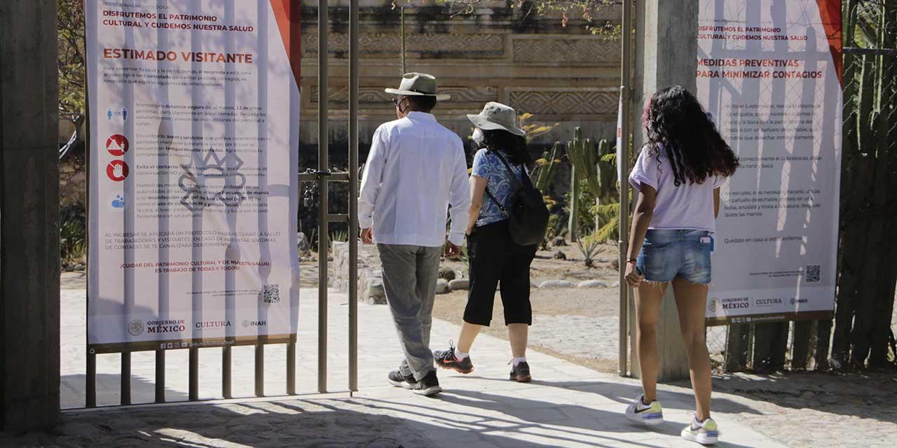 Bajan visitas a zonas arqueológicas de Oaxaca | El Imparcial de Oaxaca