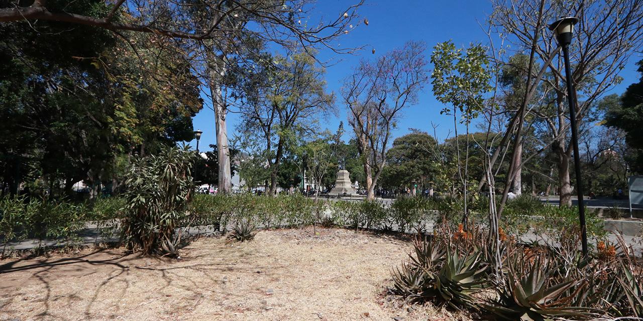 Jardines de paseo Juárez El Llano en el abandono; autoridades siguen sin atender | El Imparcial de Oaxaca