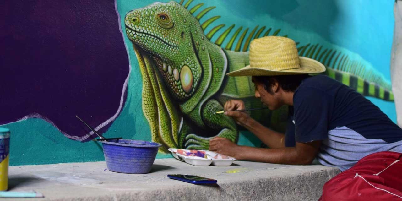 La esperanza se pinta de colores en Huaxpaltepec | El Imparcial de Oaxaca