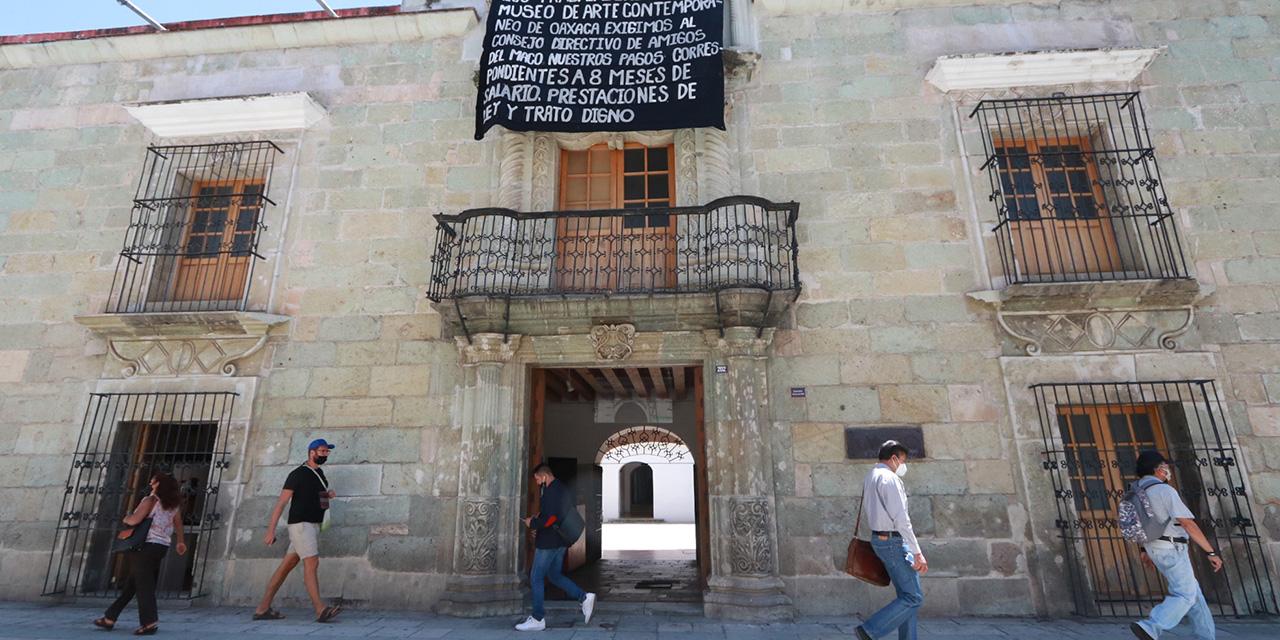 Demandan a Amigos del MACO; cerca de 700 obras en riesgo   El Imparcial de Oaxaca
