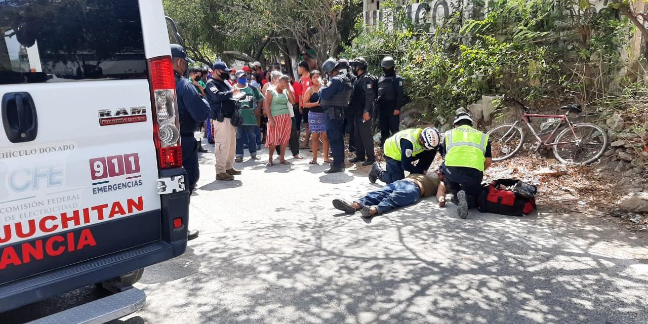 Camión de pasaje arrolla a ciclista en Xadani   El Imparcial de Oaxaca