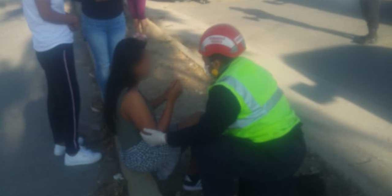Mujer choca en El Rosario; resultó con heridas menores | El Imparcial de Oaxaca