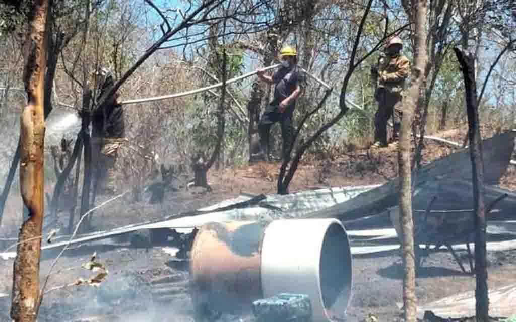 Arde casa en Huatulco | El Imparcial de Oaxaca