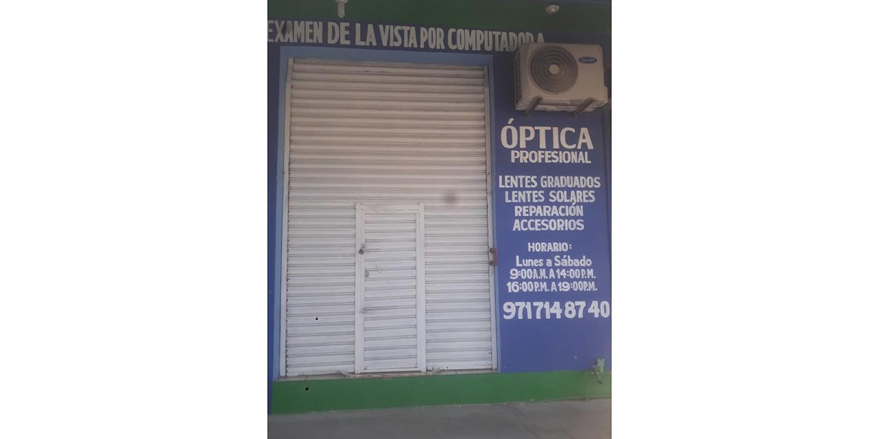 Vuelven los asaltos a las ópticas de Ixtepec | El Imparcial de Oaxaca