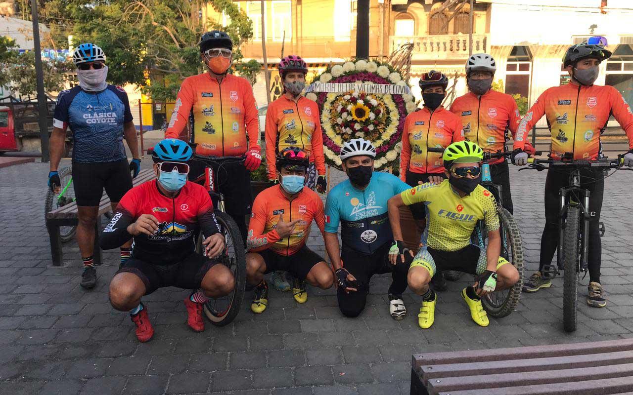 Ciclistas juchitecos arriban a la capital de Oaxaca   El Imparcial de Oaxaca