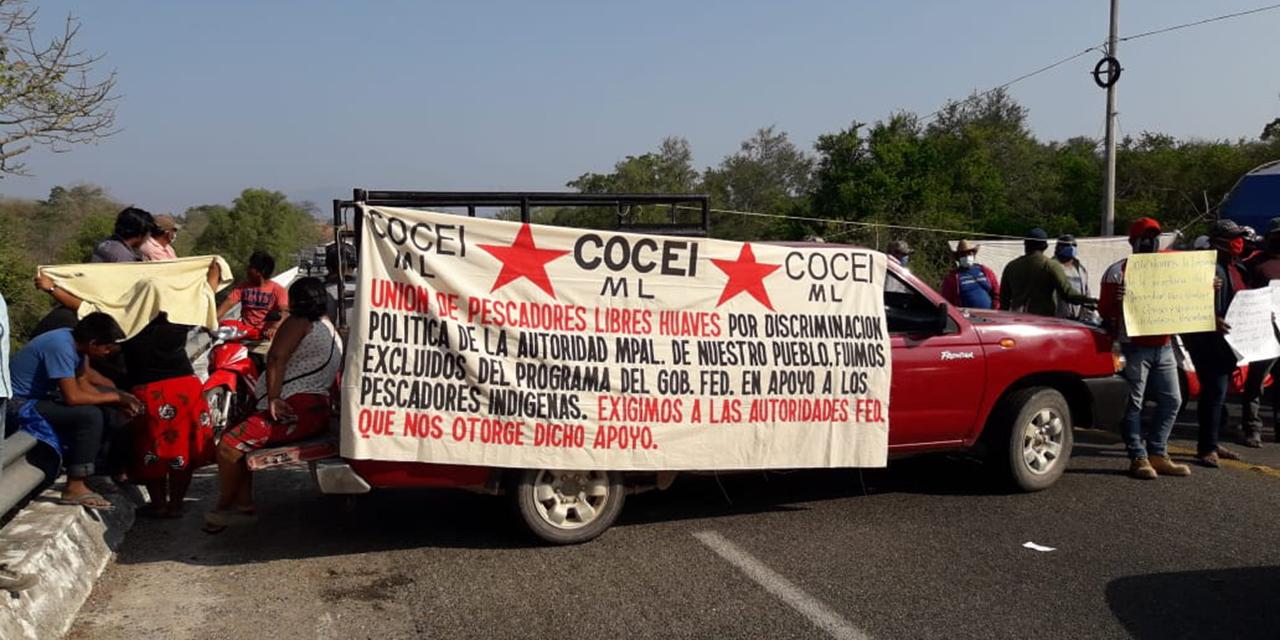Pescadores de San Francisco del Mar exigen apoyos del programa Bienpesca | El Imparcial de Oaxaca