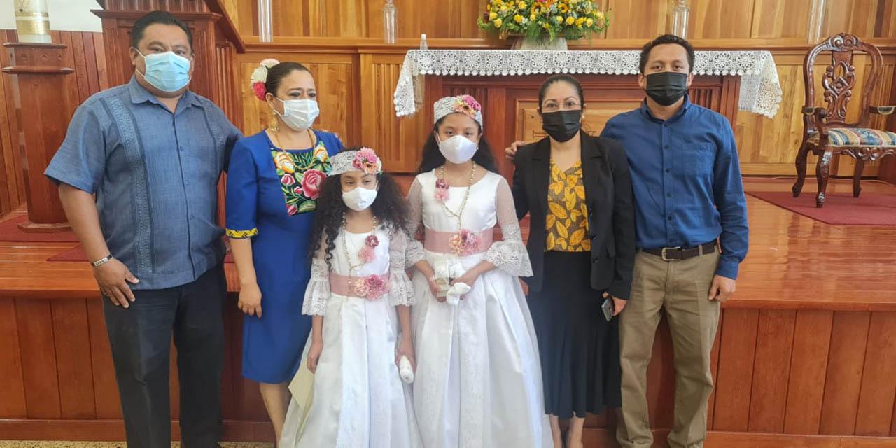 Reciben primer sacramento | El Imparcial de Oaxaca