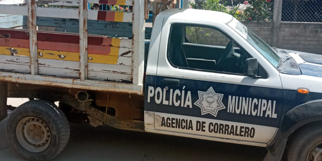 Solicitan nueva patrulla de forma urgente en agencia Corralero | El Imparcial de Oaxaca