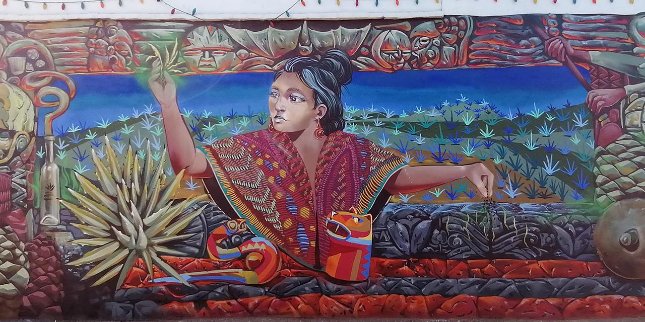 Llevan el mezcal a los muros de Santa Rosa en Oaxaca | El Imparcial de Oaxaca