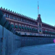 Blindan Palacio Nacional ante movilizaciones