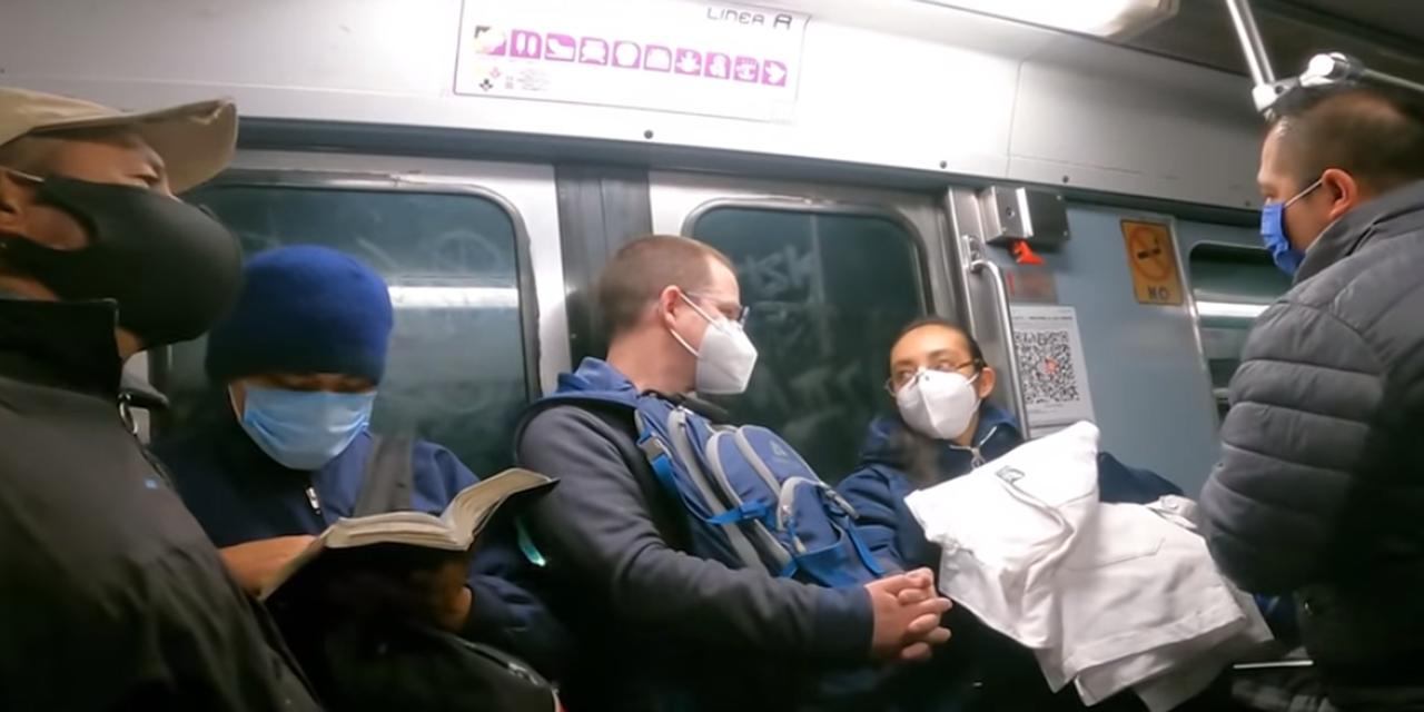 Video: Ricardo Anaya presume su viaje en combi y Metro | El Imparcial de Oaxaca