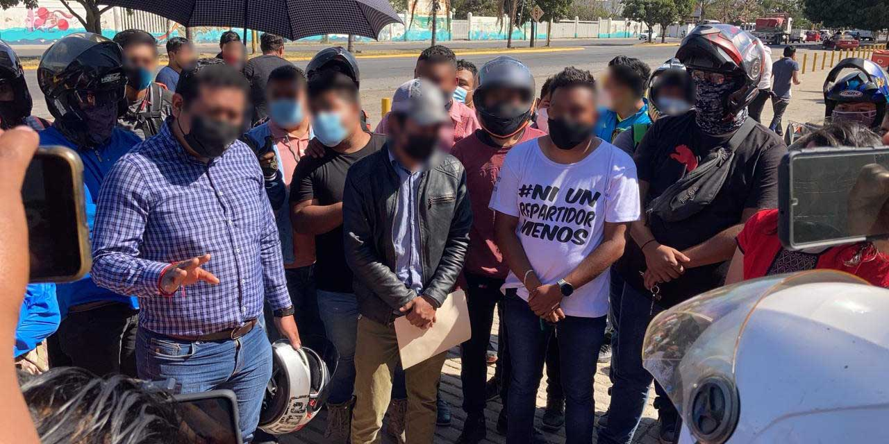 Policía y repartidores de Oaxaca sostienen diálogo   El Imparcial de Oaxaca