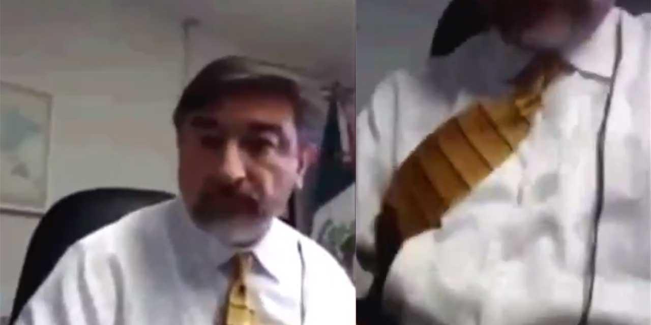 Video: Funcionario de la Secretaría de Relaciones Exteriores es involucrado en escándalo tras divulgación de video sexual | El Imparcial de Oaxaca