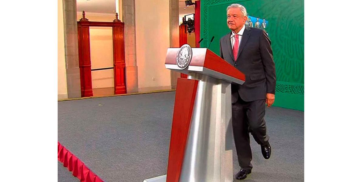 En un solo pie, López Obrador destaca el combate a corrupción | El Imparcial de Oaxaca