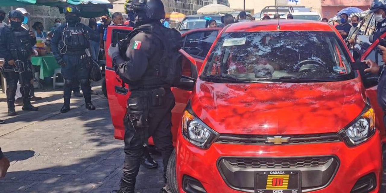 Golpean a un oficial de la Policía Vial Estatal   El Imparcial de Oaxaca