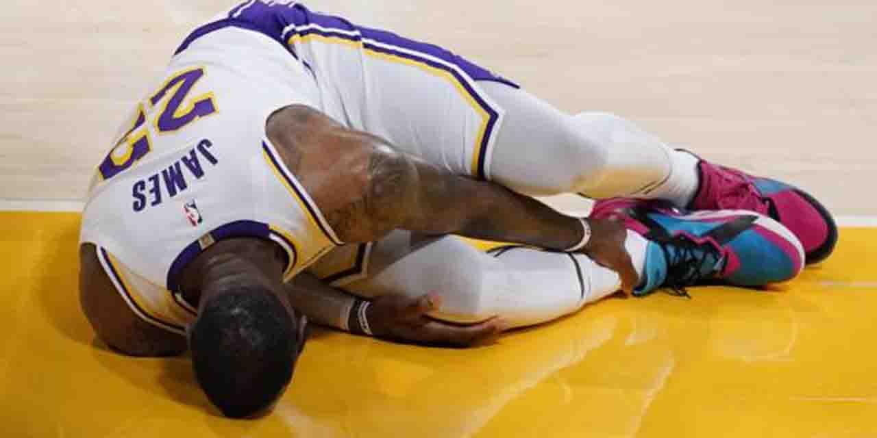 Video: LeBron James sufre lesión en el tobillo   El Imparcial de Oaxaca