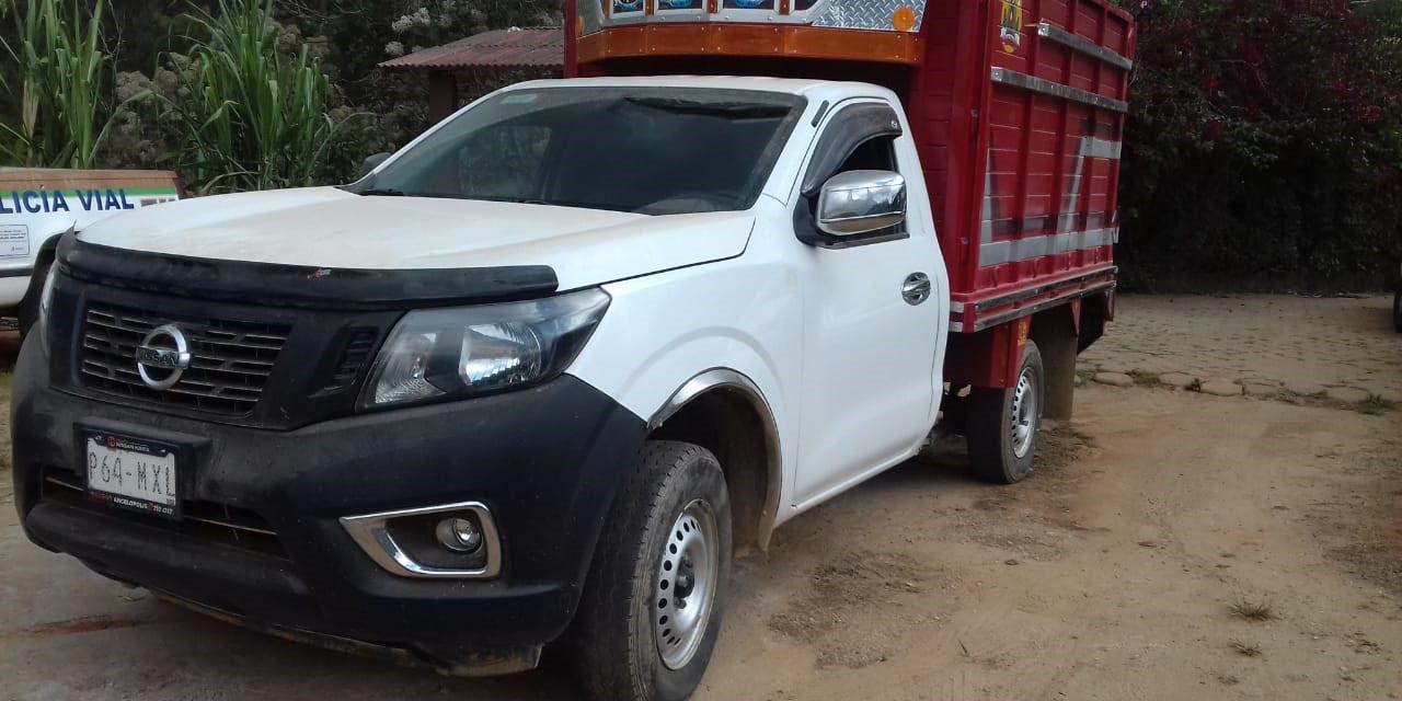 Llevaba camioneta robada en Puebla | El Imparcial de Oaxaca