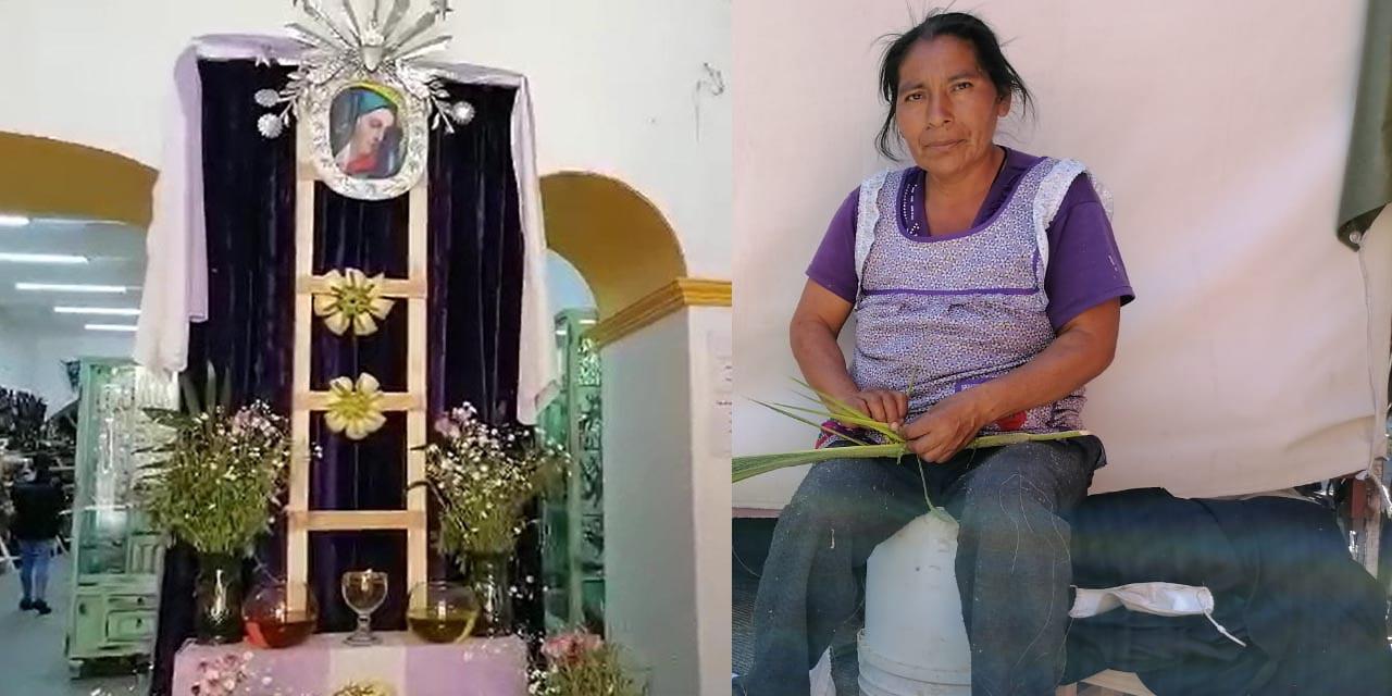 Escasean figuras de palma tras prohibición de puestos temporales en la capital | El Imparcial de Oaxaca