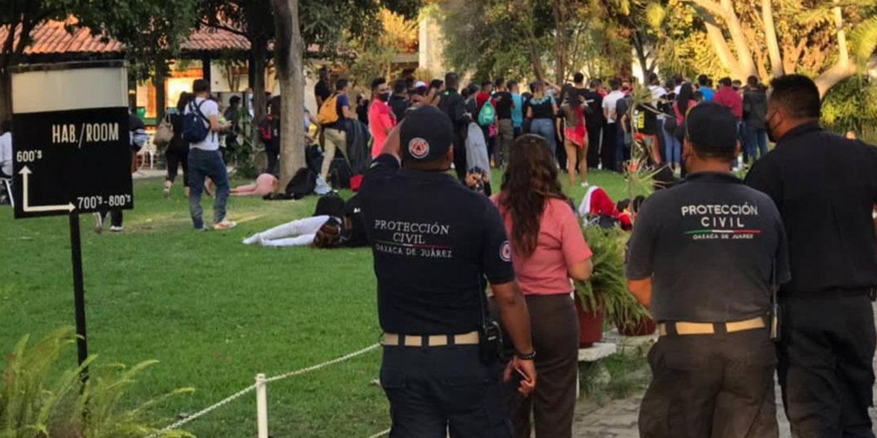 Tras advertencia por festival, intensifican operativos en capital | El Imparcial de Oaxaca
