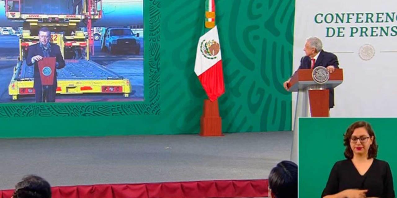 Recibe México casi 1 millón de vacunas de SinoVac y Pfizer | El Imparcial de Oaxaca