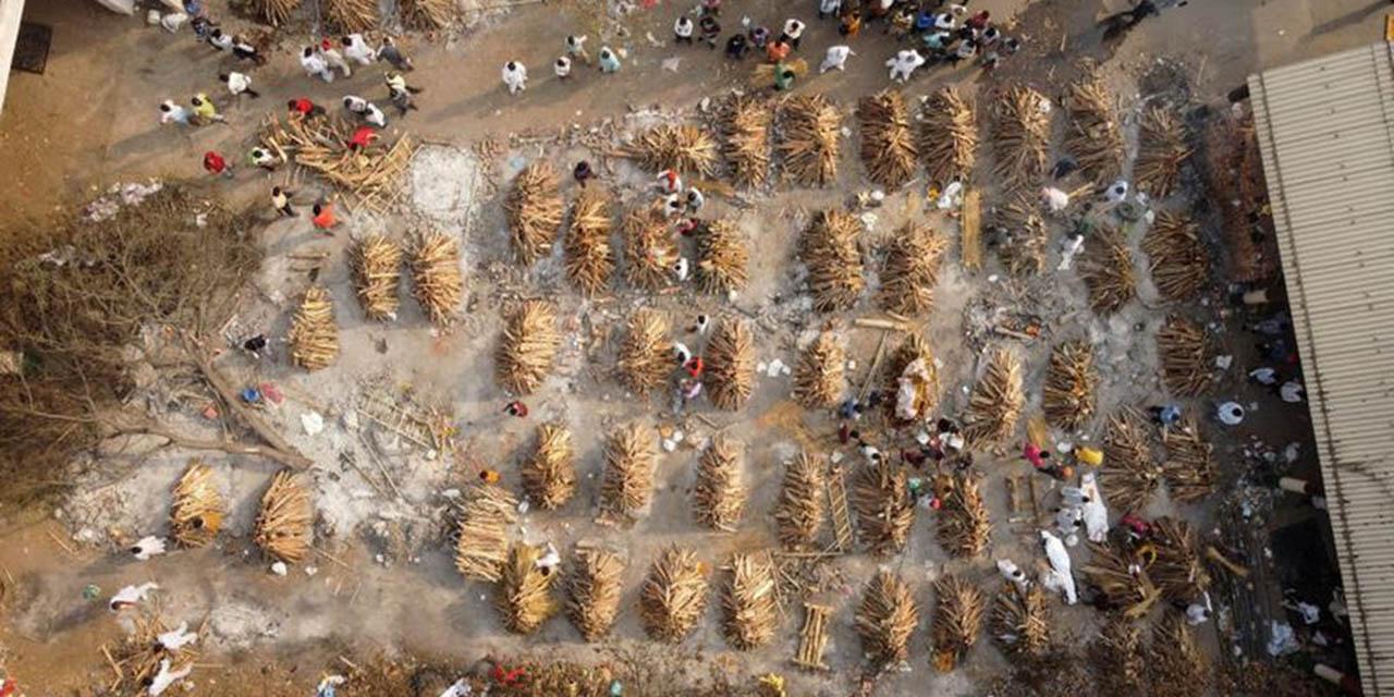 Casos Covid-19 en India superan los 18 millones mientras sepultureros trabajan contra el tiempo | El Imparcial de Oaxaca