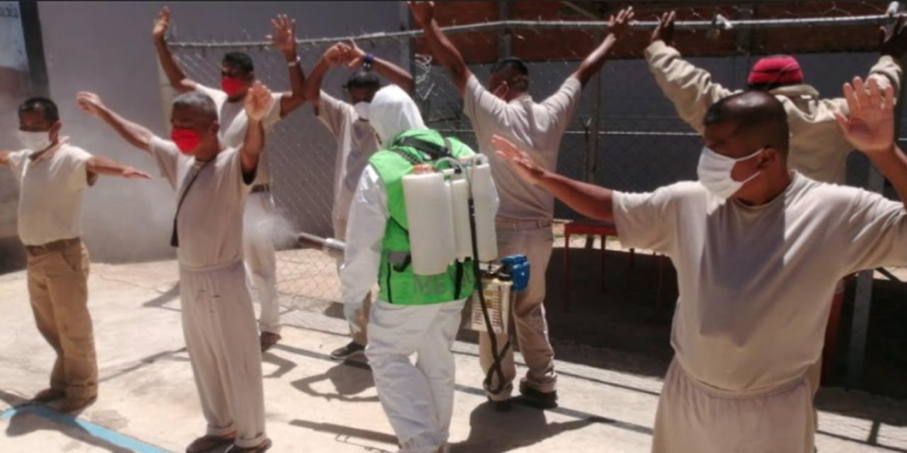 Sanitizan reclusorio de Juquila | El Imparcial de Oaxaca