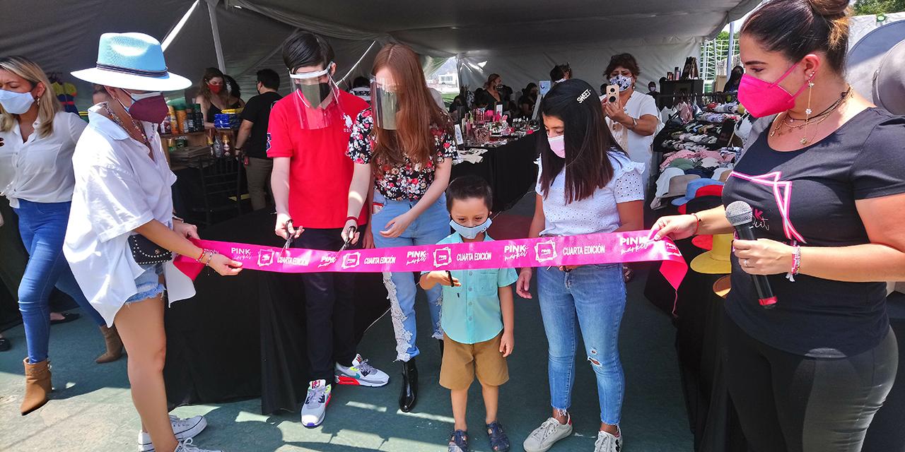 Un éxito la cuarta edición del Pink Market   El Imparcial de Oaxaca