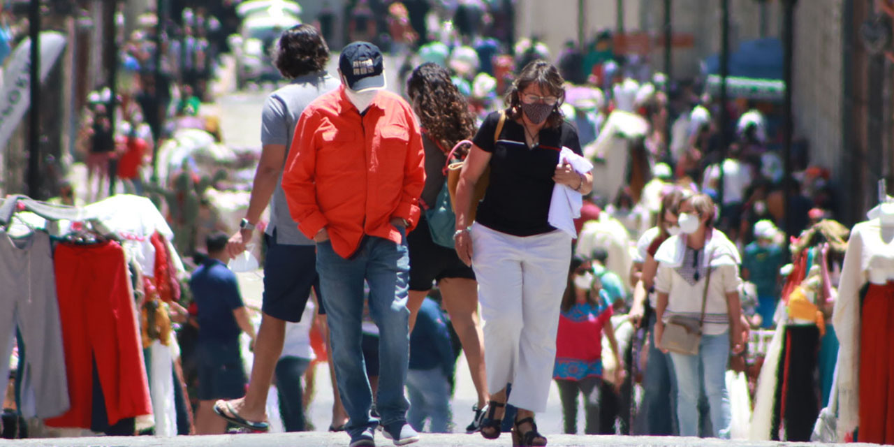 Oaxaca pasa a semáforo verde en pleno repunte de contagios por Covid-19 | El Imparcial de Oaxaca