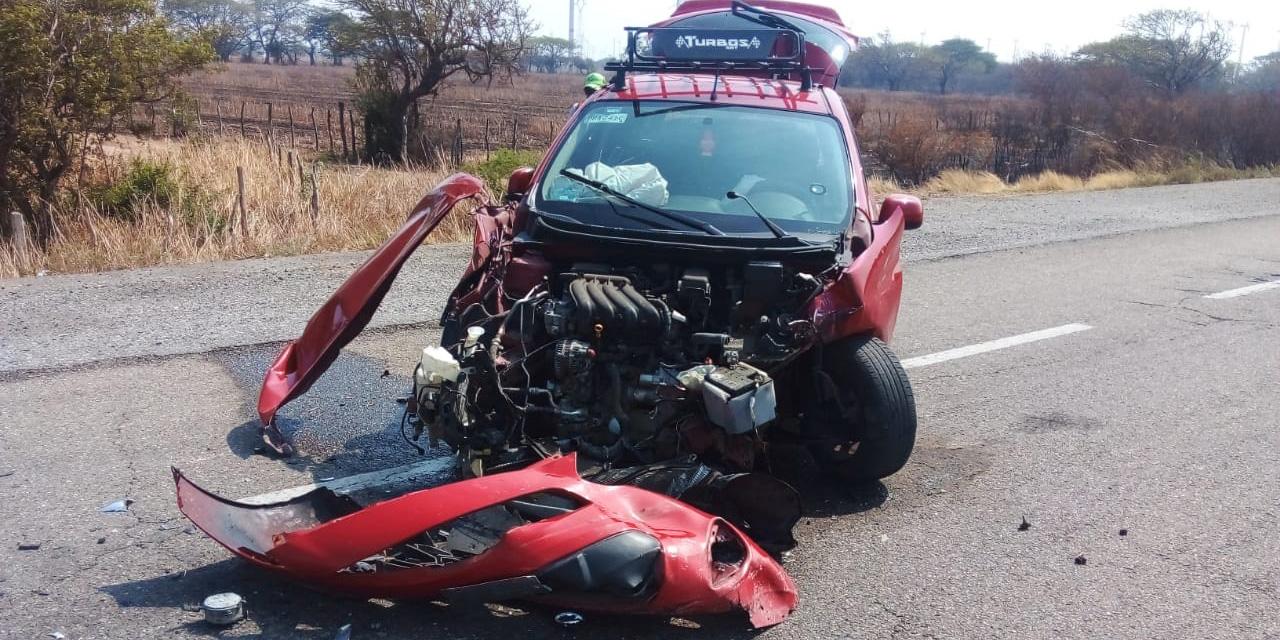 Accidente en tramo carretero de La Venta deja dos lesionados | El Imparcial de Oaxaca
