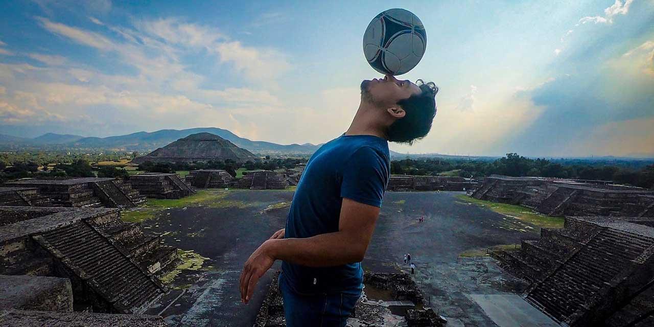Ángel Amador, a la final del mundial de futbol freestyle   El Imparcial de Oaxaca