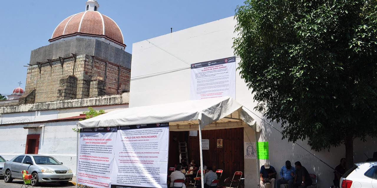 Sindicalizados del INAH dan tregua al gobierno; mantendrán abiertas las zonas arqueológicas | El Imparcial de Oaxaca