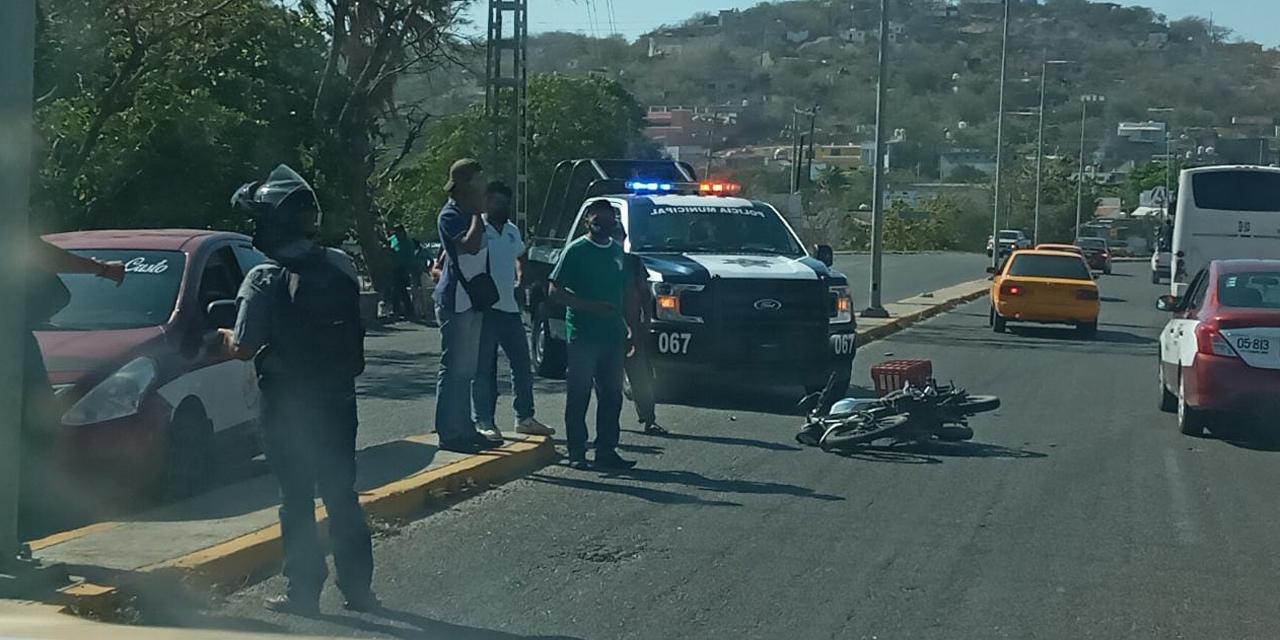 Se impacta en auto estacionado | El Imparcial de Oaxaca