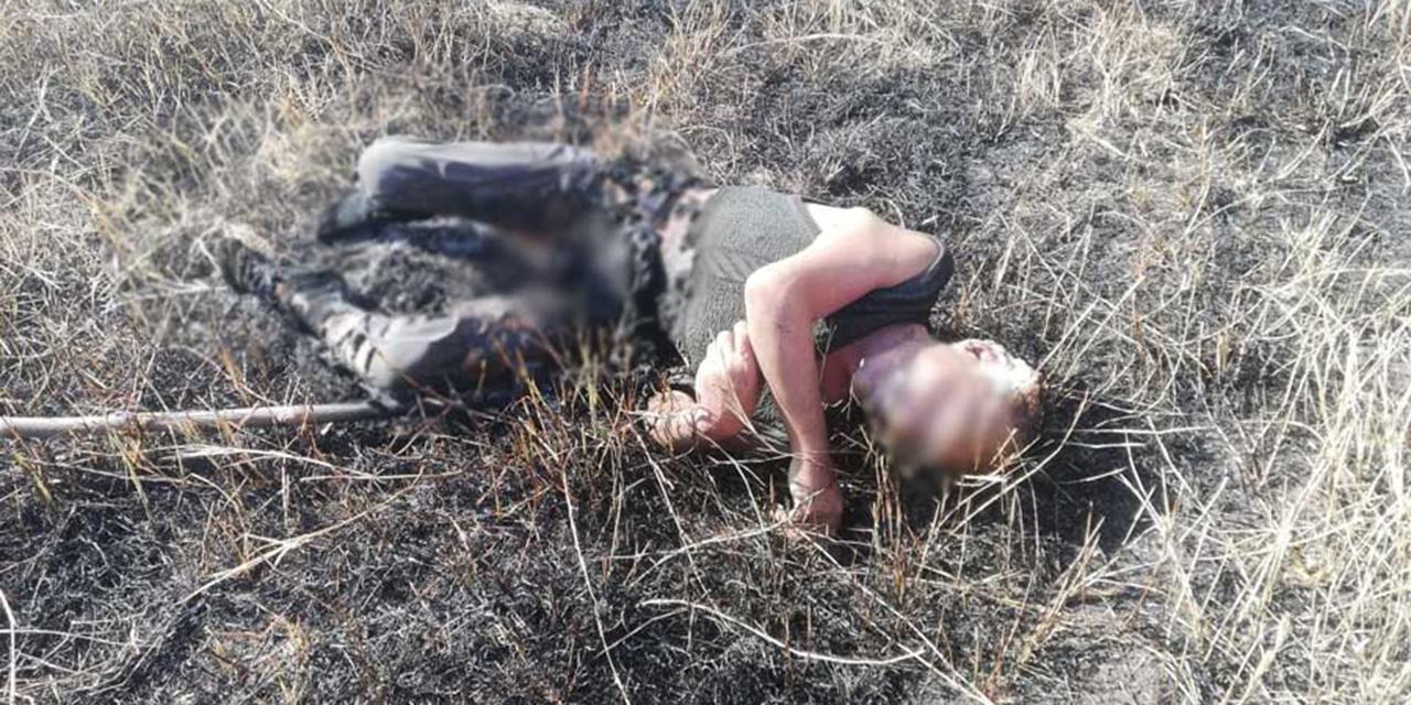 Hallan cuerpo calcinado y baleado en agencia de Ocotlán de Morelos | El Imparcial de Oaxaca