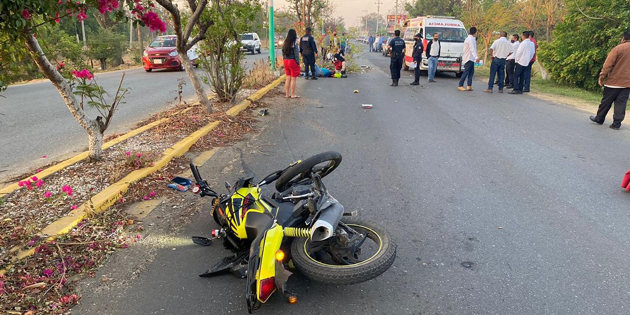 Accidente sobre la carretera a Jalpan deja un herido de gravedad | El Imparcial de Oaxaca