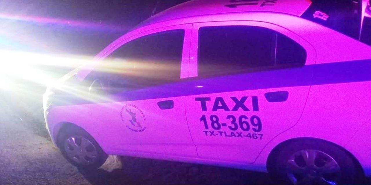 Jóvenes armados roban taxi en San Martín Huamelulpan, lo recuperan tras un operativo   El Imparcial de Oaxaca