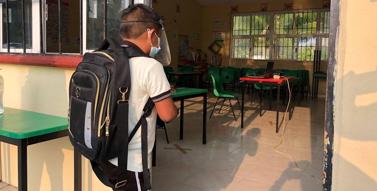 Regresan a las aulas en Campeche; fue exitoso aseguran las autoridades | El Imparcial de Oaxaca