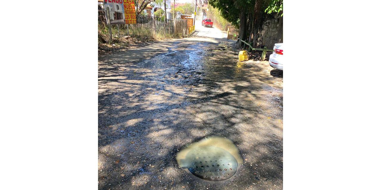 Sufren de aguas negras en San Felipe del Agua | El Imparcial de Oaxaca