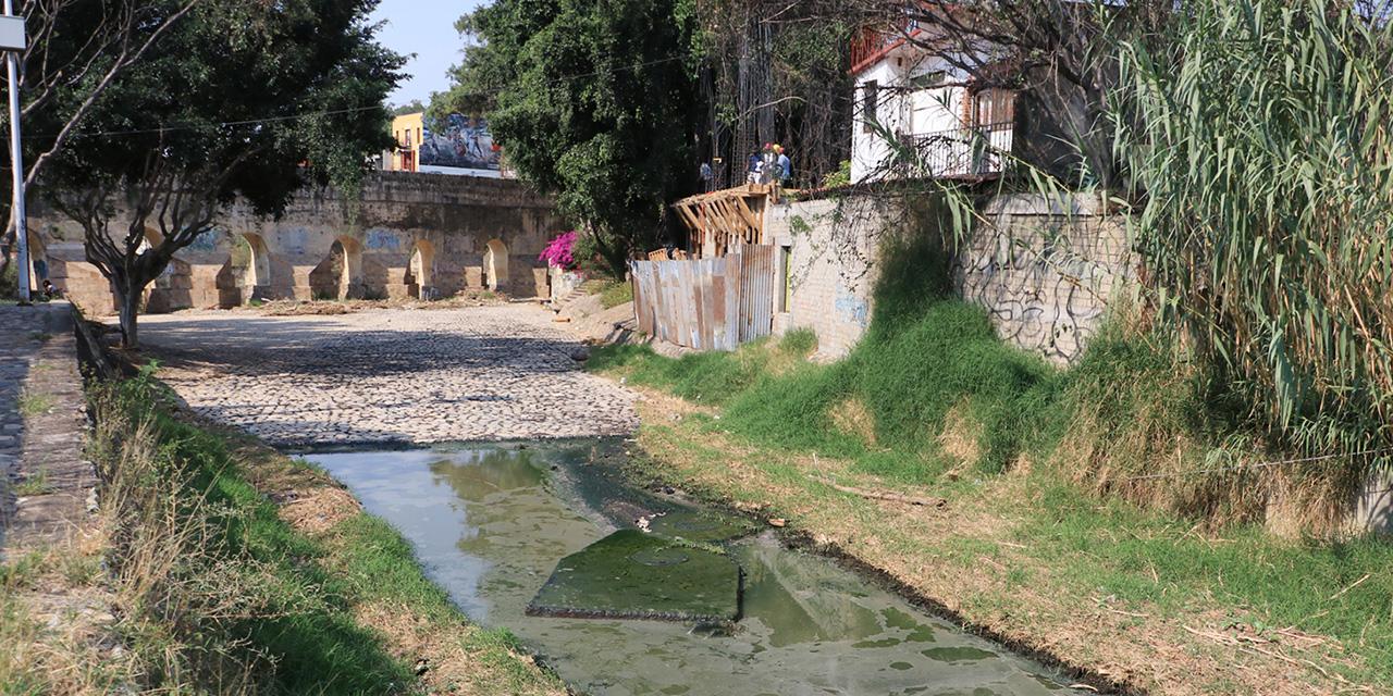 Obra de SAPAO en Río San Felipe: foco de infección y contaminación | El Imparcial de Oaxaca