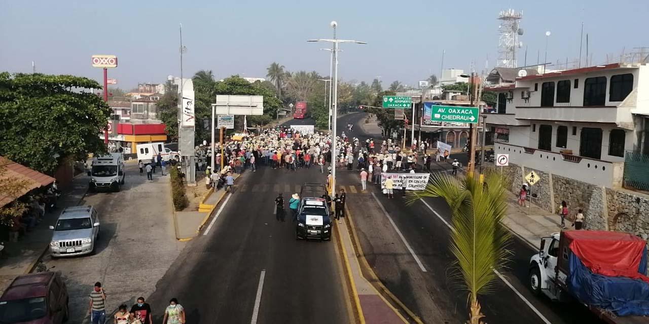 Advierten15 días de bloqueos en Puerto Escondido | El Imparcial de Oaxaca