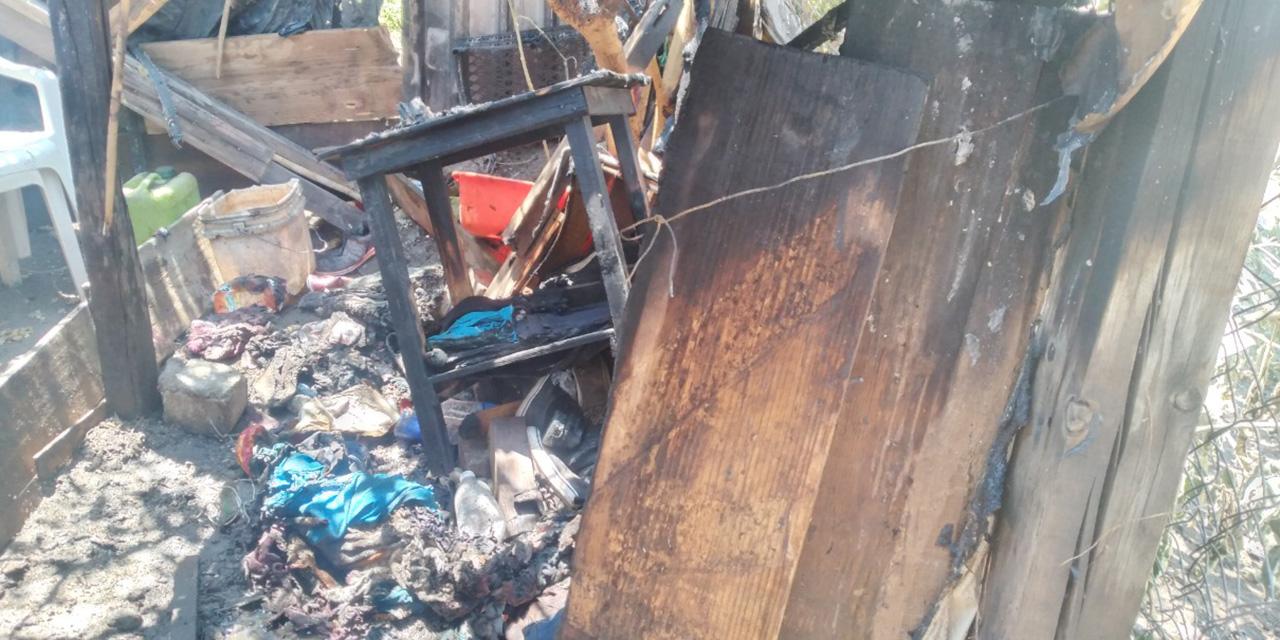 Muere quemado tras incendio en su casa en el Ex Marquesado | El Imparcial de Oaxaca