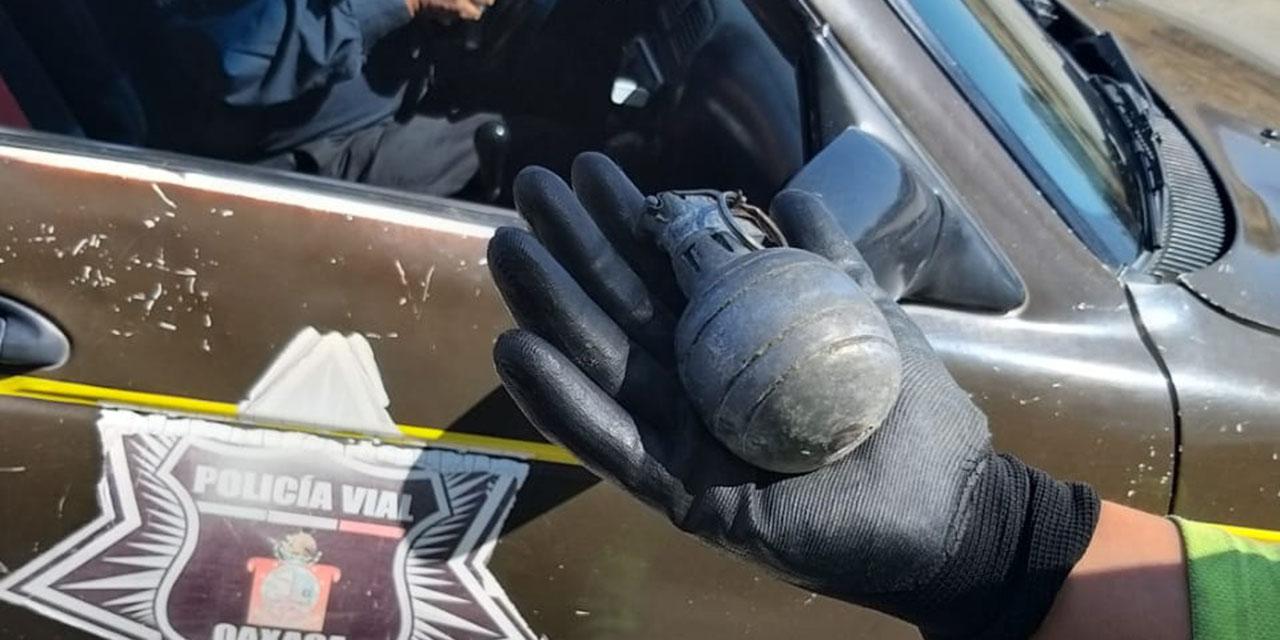 Hallan granada de fragmentación en San Jerónimo Tlacochahuaya | El Imparcial de Oaxaca
