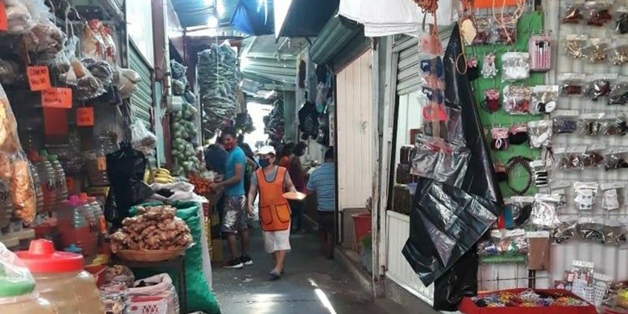 Mercado Zaragoza, una bomba de tiempo   El Imparcial de Oaxaca