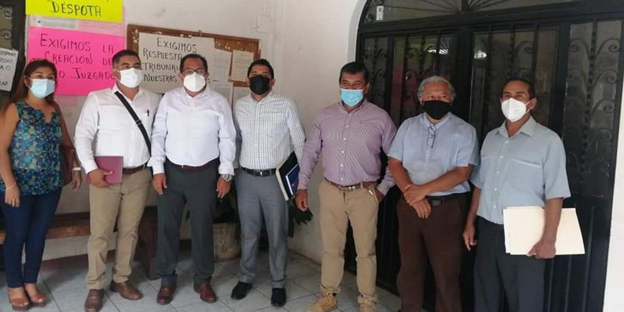 Abogados del Istmo exigen habilitación de juzgado | El Imparcial de Oaxaca