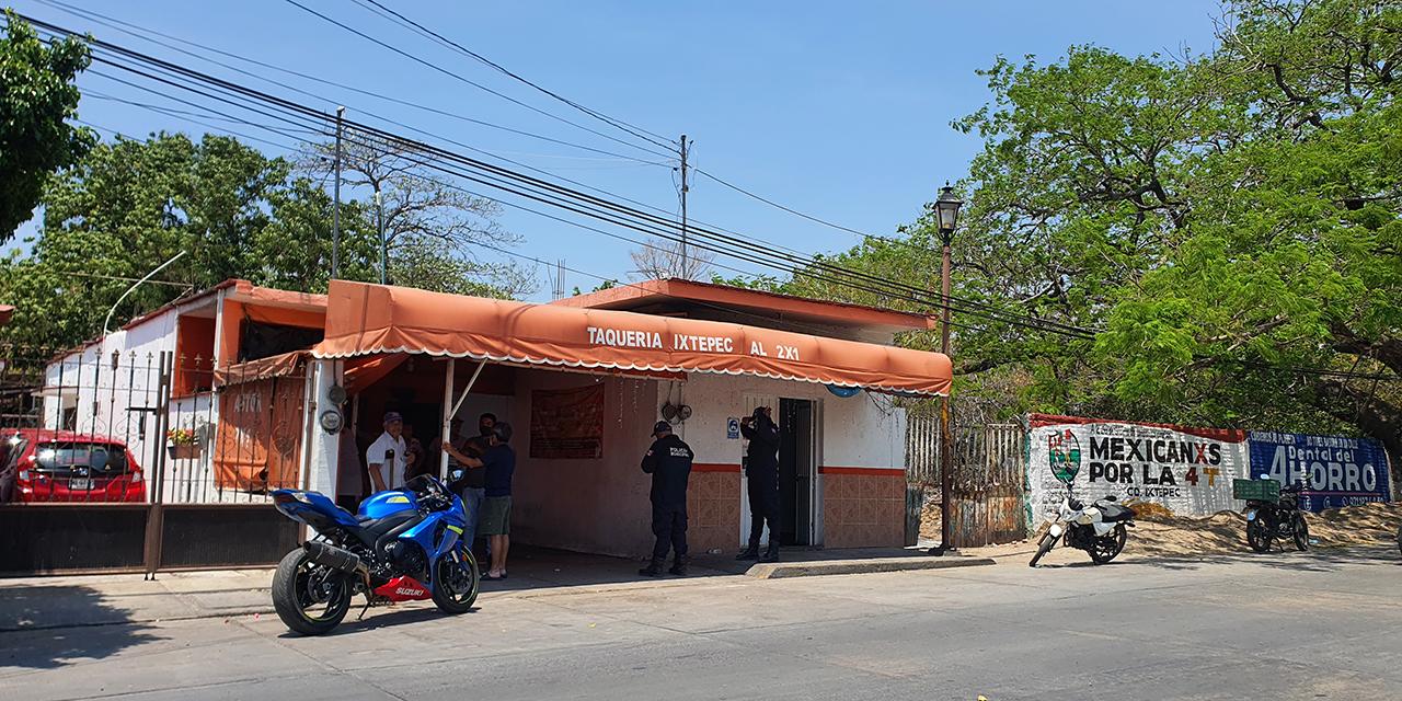 Frustran asalto en conocida taquería de Ciudad Ixtepec | El Imparcial de Oaxaca