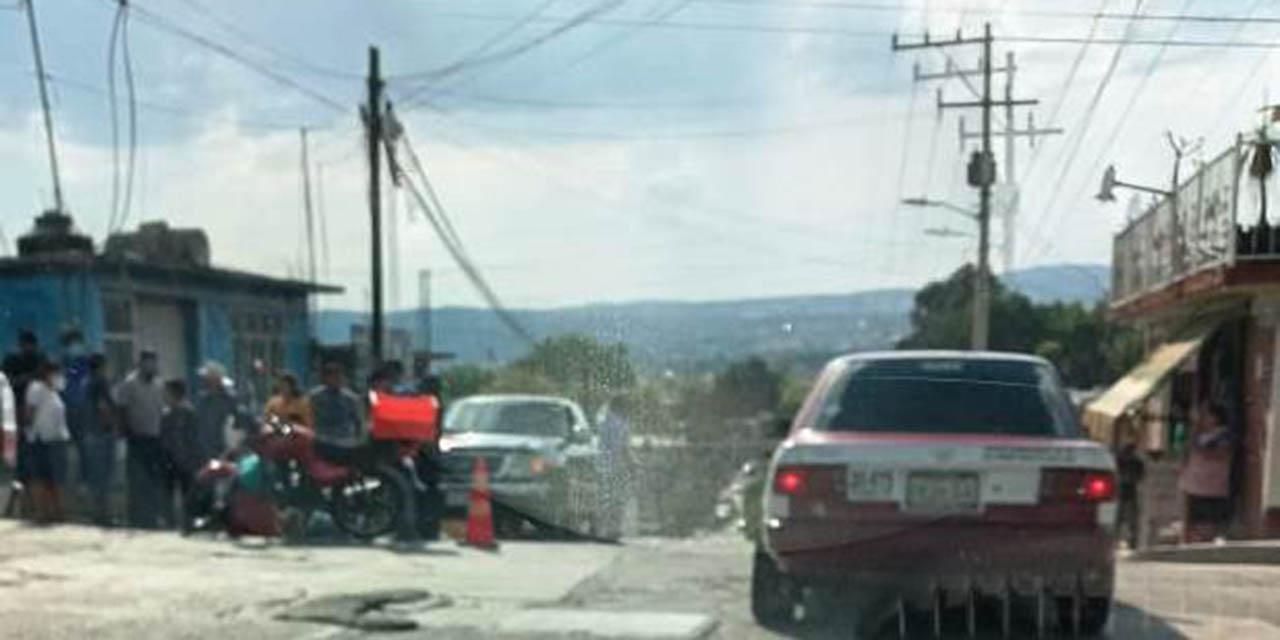 Motociclista se accidenta en agencia de Huajuapan | El Imparcial de Oaxaca