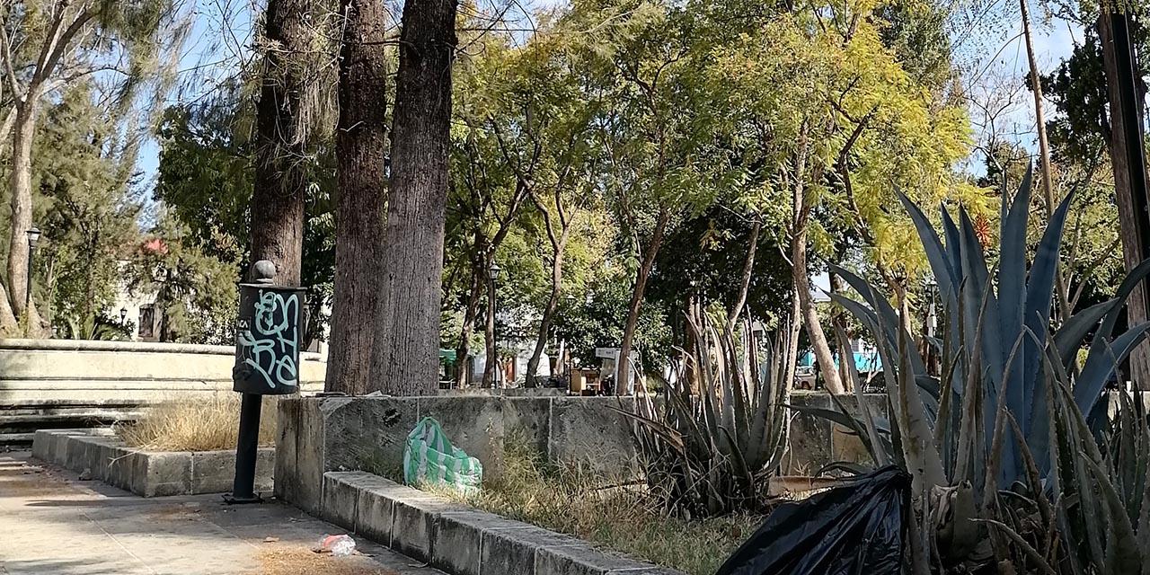 Critican abandono del Paseo Juárez El Llano | El Imparcial de Oaxaca