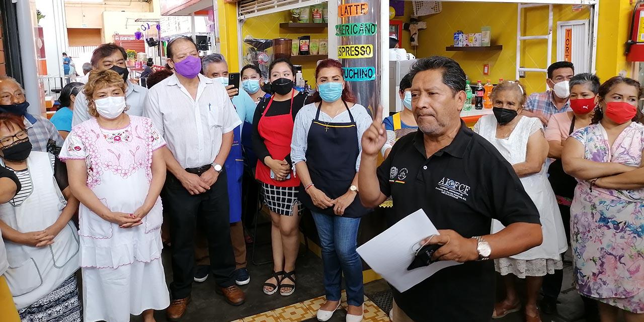Locatarios acusan falta al reglamento   El Imparcial de Oaxaca