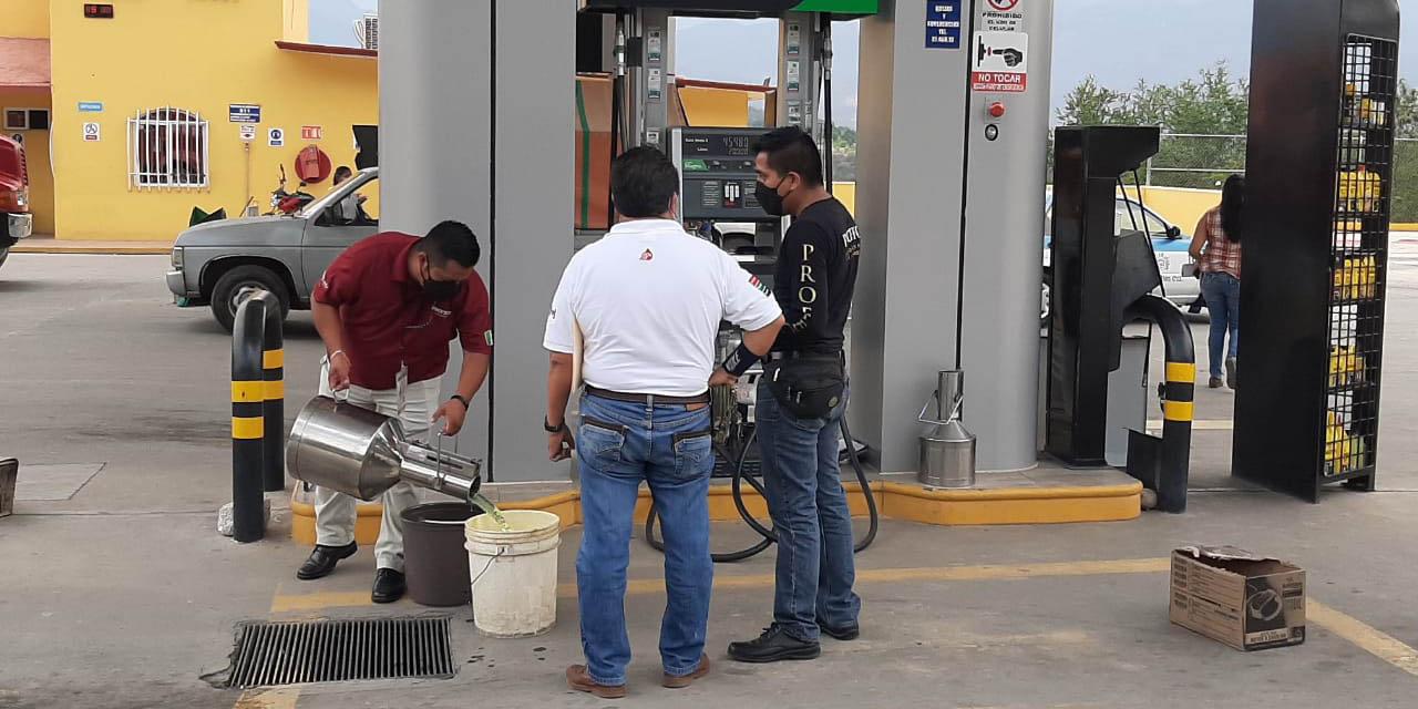 Profeco verifica gasolinera El Colorado en carretera federal 135 | El Imparcial de Oaxaca